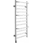 CPTSW Compact Stepped White Towel Rail