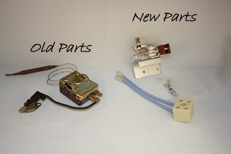 Limit Thermostat and Cut Out Repair Kit