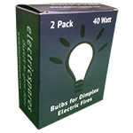40 Watt Bulbs (2 Pack) - Our own brand